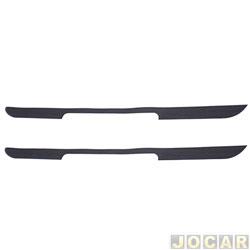 Protetor do para-choque - alternativo - Celta 2000 até 2006 - preto - par