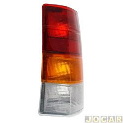 Lanterna traseira - alternativo - Acrilux - Ipanema 1989 at� 1998 - tricolor - lado do passageiro - cada (unidade) - 1479.21