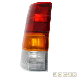 Lanterna traseira - alternativo - Acrilux - Ipanema 1989 até 1998 - tricolor - lado do motorista - cada (unidade) - 1479.11