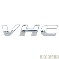 Letreiro - alternativo - Celta 2002 em diante - Corsa 2004 até 2010 - VHC - cromado - cada (unidade)