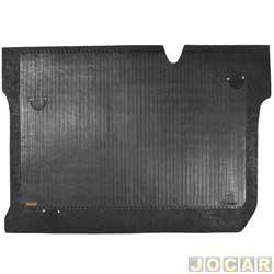 Tapete do porta-malas de borracha - Borcol - Agile 2009 em diante  - preto - cada (unidade) - 242268