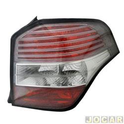 Lanterna traseira - importado - Agile 2009 em diante - lado do passageiro - cada (unidade) - 243105