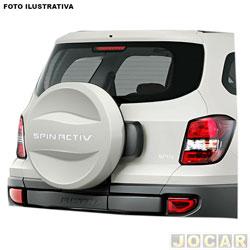 Capa de estepe - alternativo - Spin Activ 2013 em diante - prata switchblade - cada (unidade)