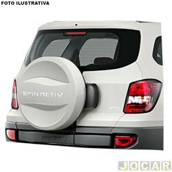 Capa de estepe - alternativo - Spin Activ 2013 em diante - branco vintage - cada (unidade)