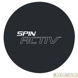 Capa de estepe - Comix Acessórios - Spin Activ 2014 em diante - Basic - cada (unidade) - CC609