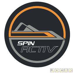 Capa de estepe - Comix Acessórios - Spin Activ 2014 até 2018 - Activ - cada (unidade) - CC610