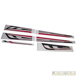 Faixa adesiva - alternativo - Onix 2012 em diante - jogo