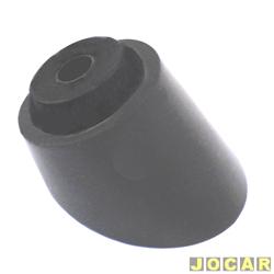 Capa da haste do limpador - alternativo - Corsa 1994 até 2002-Kadett/Ipanema - 1988 até 1998 - Classic 2003 em diante - vidro traseiro - preto - cada (unidade)
