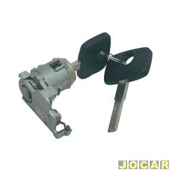 Cilindro da chave da porta - Omega/Suprema 1992 até 1998 - com alarme - lado do motorista - cada (unidade)