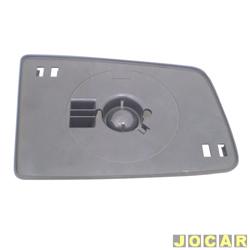 Base da lente do retrovisor - Vectra 1993 até 1996 - lado do passageiro - cada (unidade)