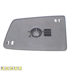 Base da lente do retrovisor - Vectra 1993 até 1996 - lado do motorista - cada (unidade)