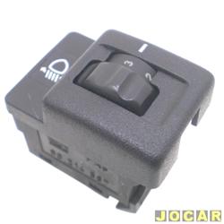 Interruptor do farol - alternativo - Omega/Suprema - 1992 até 1998 - botão de regulagem - cada (unidade)