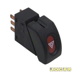 Interruptor de emergência - alternativo - Corsa até 2002 - cada (unidade)