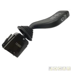 Chave do limpador do vidro - Kostal - Corsa 1994 até 2006/Astra 1995 até 1996/Zafira 2000 até 2005 - para limpador dianteiro/traseiro - preto - cada (unidade) - 1836361