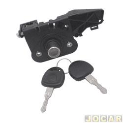 Cilindro do capô traseiro - alternativo - Corsa hatch -2003 até 2007 - Meriva 2002 em diante - 4 portas - Botão - simples - cada (unidade)