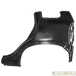 Lateral traseira - alternativo - Corsa hatch 1995 até 2002 - 4 portas - para pintar - lado do motorista - cada (unidade)
