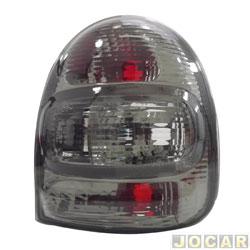 Lanterna traseira tuning - alternativo - Inovox (RCD) - Corsa Hatch 2000 até 2002 - linha Evolution - fumê - lado do passageiro - cada (unidade) - I2218