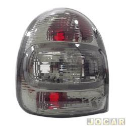 Lanterna traseira tuning - alternativo - Inovox (RCD) - Corsa Hatch 2000 até 2002 - linha Evolution - fumê - lado do motorista - cada (unidade) - I2219