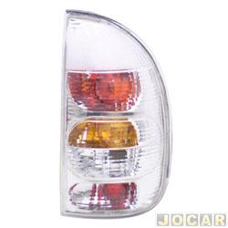 Lanterna traseira tuning - alternativo - Inovox (RCD) - Corsa 2000 até 2002 - 4 portas (exceto Sedan) - linha Evolution - cristal (branca) - lado do passageiro - cada (unidade) - I2344