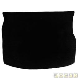 Carpete do porta-malas - Corsa hatch 1994 até 2002 - preto - cada (unidade)