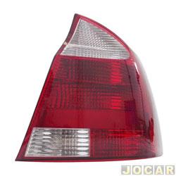 Lanterna traseira - importado - Corsa sedan 2003 até 2007 - traseiro - lado do passageiro - cada (unidade) - 25990