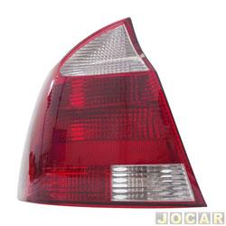 Lanterna traseira - importado - Corsa sedan 2003 até 2007 - traseiro - lado do motorista - cada (unidade) - 25991