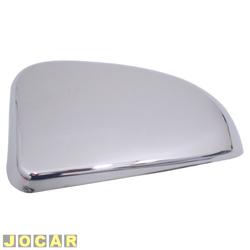 Aplique capa do retrovisor - Celta 2000 até 2006 - auto-adesiva - cromada - lado do motorista - cada (unidade)