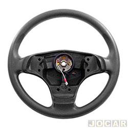 Volante - Valepur - Celta 2007 até 2011 - Prisma 2006 até 2012 - modelo original - sem tampa da buzina - cada (unidade) - VR-0469