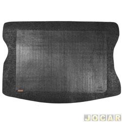 Tapete do porta-malas de borracha - Borcol - Celta 2000 em diante - preto - cada (unidade) - 01216251