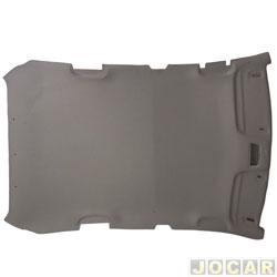 Revestimento do teto - Original Chevrolet - Astra hatch 2002 até 2011 - 4 portas - cinza claro - cada (unidade) - 93345393