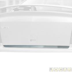Friso aplique do capô traseiro - Sport Inox - Astra Hatch/Sedan 1995 até 2011 - auto colante - resinado - aço escovado - cada (unidade) - GM002FSIE