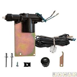 Trava elétrica - Dial - Astra Sedan 1999 até 2011 4 portas - para tampa do porta mala - jogo - LKPMGM36