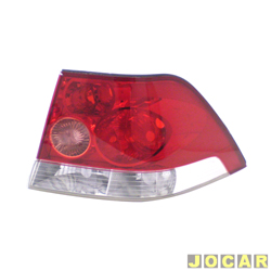 Lanterna traseira - Original Chevrolet - Vectra Sedan 2006 até 2009 - lado do passageiro - cada (unidade) - 93.345.894