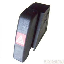 Interruptor de emergência - alternativo - Vectra 1994 até 1996 - cada (unidade)
