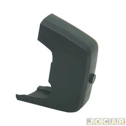 Garra do para-choque - alternativo - Corcel II/Belina - 1980 a 1984 - de plástico - para pára-choque sem borrachão - dianteiro - lado do passageiro - cada (unidade)