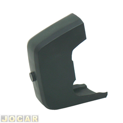Garra do para-choque - alternativo - Corcel II /Belina - 1980 a 1984 - de plástico - para pára-choque sem borrachão - dianteiro - lado do motorista - cada (unidade)