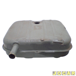 Tanque de combustível - Belina II 1978 até 1991 - 63L  - para pintar - cada (unidade)