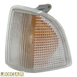 Lanterna dianteira - alternativo - NBS ou IPV - Corcel - Del-Rey - Pampa - Belina 1985 em diante - encaixe Arteb - cristal (branca) - lado do motorista - cada (unidade) - 0560005