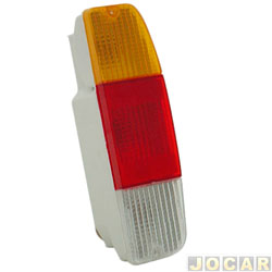 Lanterna traseira - Alternativo - Artmold - Pampa 1982 at� 1997 - F1000 - 1979 at� 1992 - tricolor - lado do passageiro - cada (unidade) - 1112