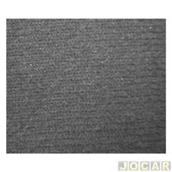 Forração do teto (tapeçaria) - Corcel - 1969 até 1986 - Veludo preto  - jogo