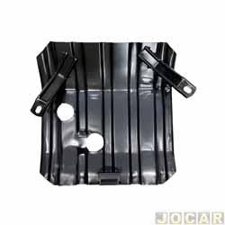 Protetor do cárter - alternativo - Igasa - Pampa 1.6/Del Rey 1.8 - para modelos sem ar e direção - cada (unidade) - GP11013