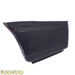 Remendo lateral - alternativo - Pampa 1982 até 1997 - traseiro - parte traseira - para pintar - lado do motorista - cada (unidade)