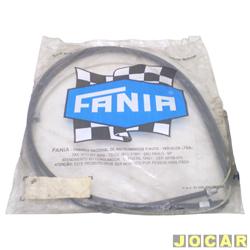 Cabo do freio de mão - Fânia - Pampa 1982 até 1989 - 4X4 - 3580 mm - traseiro - cada (unidade) - 34-186