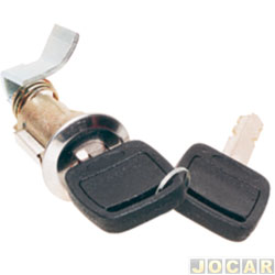 Cilindro do capô traseiro - Del Rey 1981 em diante - com chave - cada (unidade)