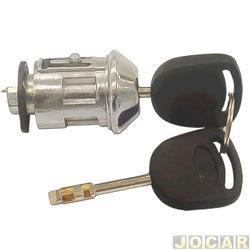 Cilindro da chave do contato - Escort 1997 até 2003 - Fiesta/Ka 2006 até 2014 - Courier 1997 até 2013 - para transponder - cada (unidade)
