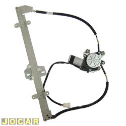 Máquina de vidro - alternativo - Escort 1993 até 1996 - Logus - elétrica com motor - lado do motorista - cada (unidade)