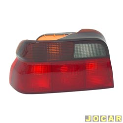 Lanterna traseira - alternativo - Acrilux - Escort 1993 at� 1996  - Verona 1994 at� 1996 - fum� - lado do motorista - cada (unidade) - 2281.19