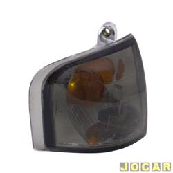 Lanterna dianteira tuning - alternativo - Inovox (RCD) - Escort 1987 até 1992 - linha Evolution - fumê - lado do passageiro - cada (unidade) - I2174