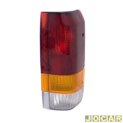 Lanterna traseira - alternativo - RCD / InovWay - F-1000 1993 até 1998 - tricolor - lado do passageiro - cada (unidade) - I 2082