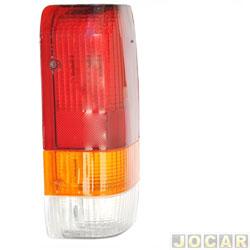 Lanterna traseira - alternativo - RCD - F-1000 1993 at� 1998 - tricolor - lado do motorista - cada (unidade) - I 2081